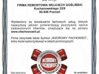 Wojciech-Goslinski-opinie-firma-remontowa-certyfikat-wzorowy-fachowiec