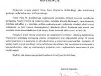 Wojciech Goslinski - referencje - Justyna Dajewska