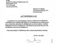 Wojciech Goslinski - referencje - KZWS