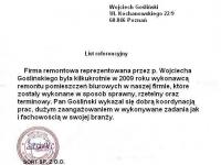 Wojciech Goslinski - referencje - Sort