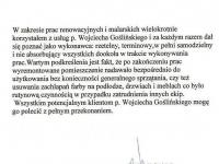 Wojciech Goslinski - referencje - Witold Szuma