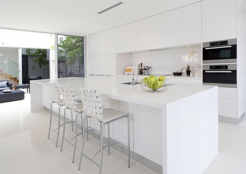 Biała kuchnia, praktyczna i modna  Abartremonty -> Kuchnia Biala Lakierowana Czy Matowa