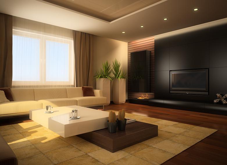 czarny kolor w salonie