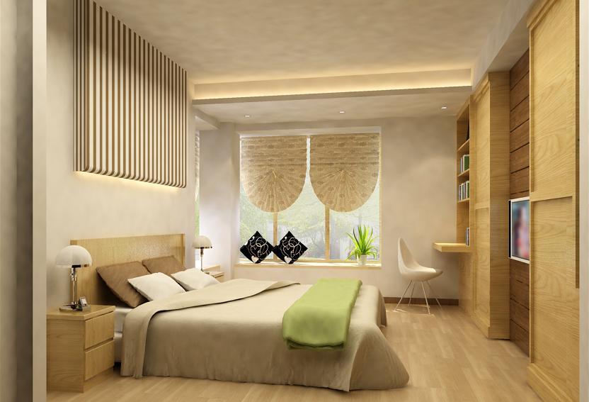 elementy dekoracyjne wykończeniowe w sypialni