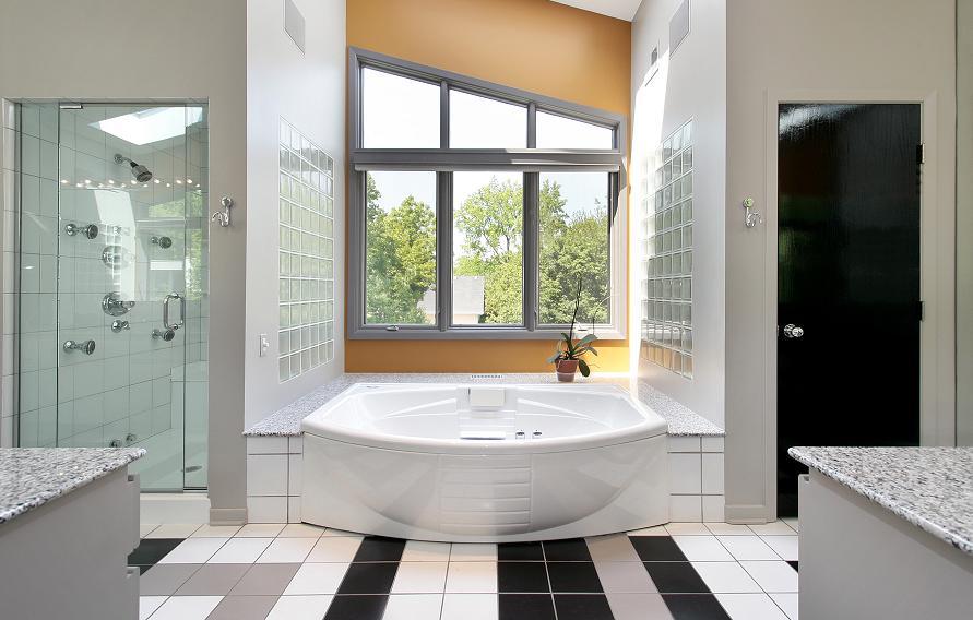 jak urządzić łazienkę jak podzielić przestrzeń