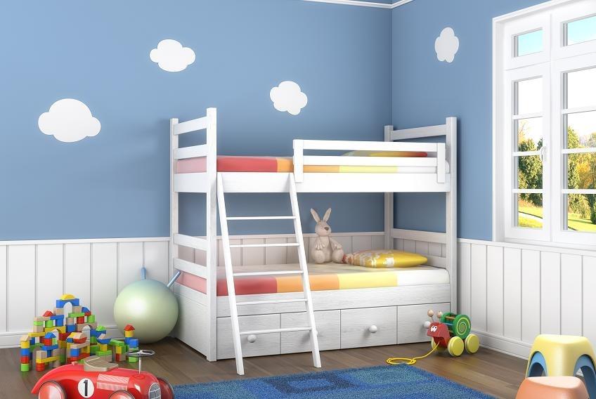 jaki kolor do pokoju dziecięcego