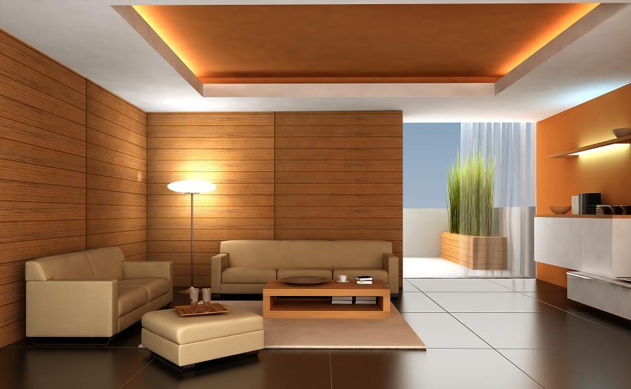 kamień naturalny i drewno na ścianie