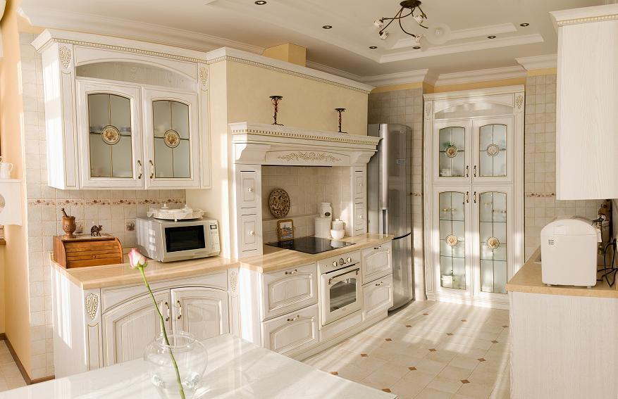 Kuchnia w rustykalnym stylu  Abartremonty -> Kuchnie W Rustykalnym Stylu