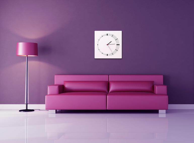 mocne kolory na ścianach jak je stosować