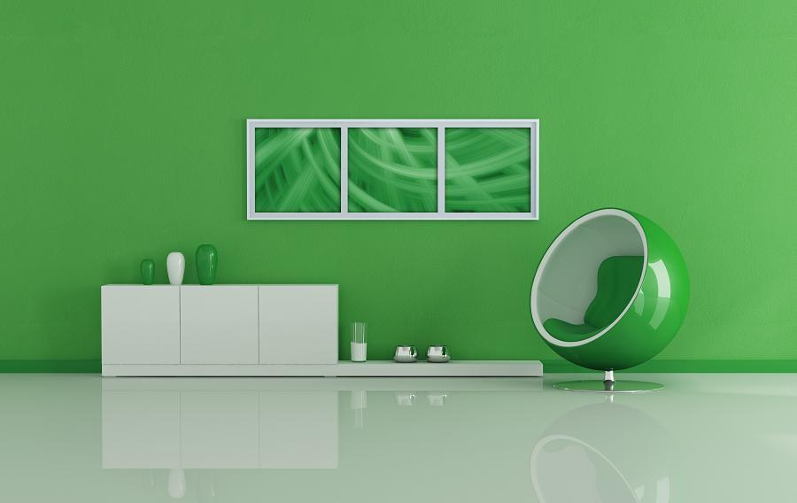 psychologia koloru zielonego