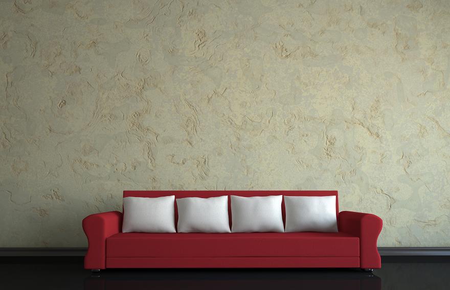 techniki dekoracyjne na ścianie