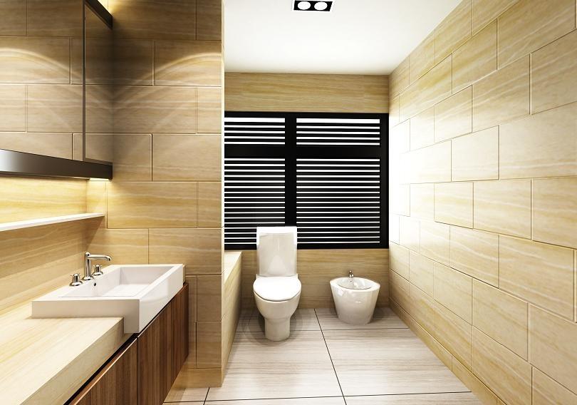 minimalizm łazienkowy