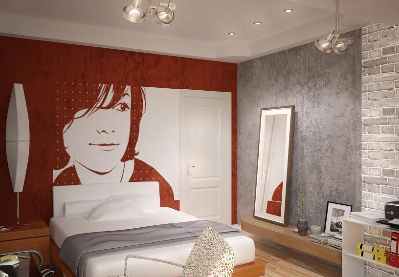 pop-art w pokoju nastolatka