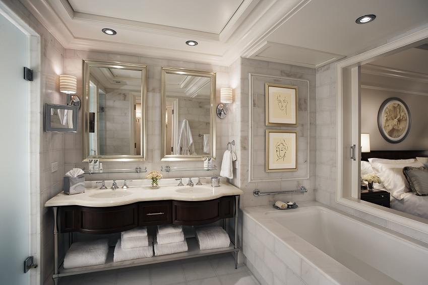 łazienka połączona z sypialnią - czy to fanaberia