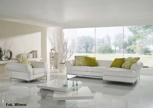 Panele w jednolitym kolorze - nowoczesny design.